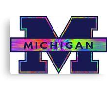 University of Michigan Logo  Canvas Print