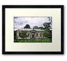 The Museum of Economic Botany Framed Print
