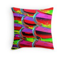 Psych Canoes Throw Pillow