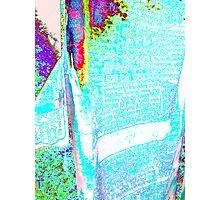 Psych Prayer Flag Photographic Print