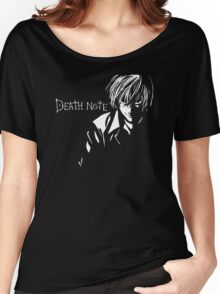 Deathnote Anime Women's Relaxed Fit T-Shirt