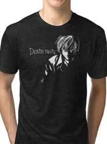 Deathnote Anime Tri-blend T-Shirt