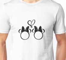 minnie & minnie - white Unisex T-Shirt