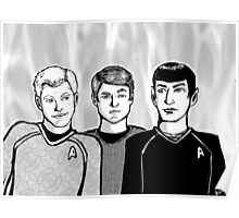 Star Trek Trio Poster