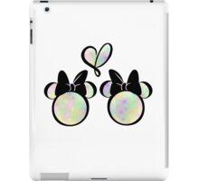 minnie & minnie - rainbow filling iPad Case/Skin
