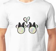 minnie & minnie - rainbow filling Unisex T-Shirt