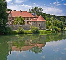 Otočec Castle  by Knedl