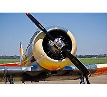 North American AT-6 Harvard Engine (SAAF 7637) (ZU-BBF) Photographic Print