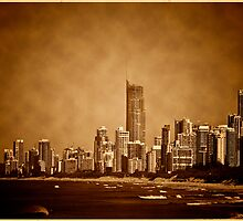 Vintage City by the Sea by RhondaR