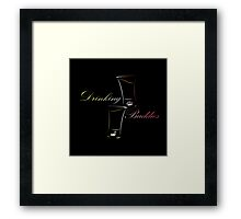 Drinking Buddies Framed Print