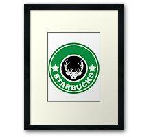 """""""Starbucks"""" Framed Print"""