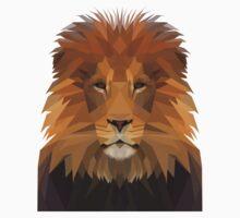 low poly lion by maismu