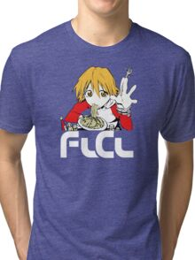 Flcl Haruhara Haruko Anime Japanese Tri-blend T-Shirt