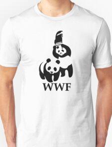 Funny Bear WWF T-Shirt