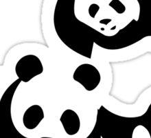 Funny Bear WWF Sticker