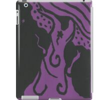 Star tree on purple iPad Case/Skin