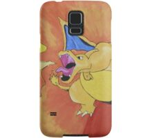 Charizard spewing the fire Samsung Galaxy Case/Skin