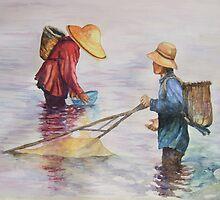 The bubuk catchers by Huazentangcm