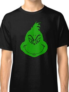 Grinch Smiley Classic T-Shirt