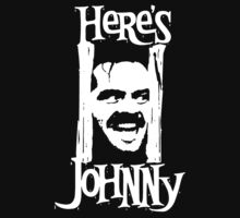 Heres Johnny The Shining Kubrick Kids Tee