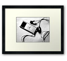 ipod Framed Print