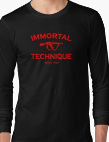 Immortal Technique Long Sleeve T-Shirt
