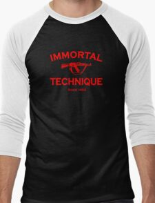 Immortal Technique Men's Baseball ¾ T-Shirt