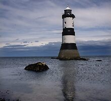 Penmon Lighthouse, Ynys Mon by Phill Jones