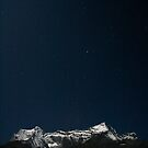Altair above Kongde by Richard Heath