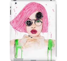 Pastel Steampunk Girl iPad Case/Skin