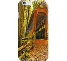 Covered Bridge,Little Hope Wisconsin #2 iPhone Case/Skin