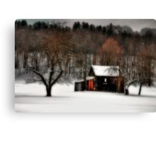 In Winter's Grip Canvas Print