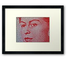 Queen Elizabeth Framed Print