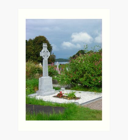 Stone at Muckross Abbey Art Print