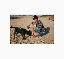 30. Chris & his Cattle-Staffy dog Bluey Unisex T-Shirt