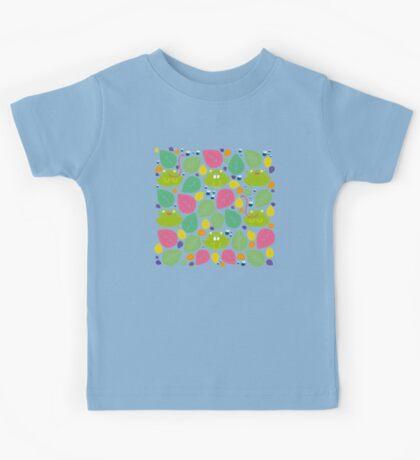 Frog Pattern Kids Tee