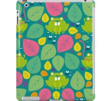 Frog Pattern iPad Case/Skin