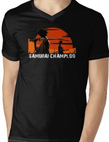 Samurai Champloo Mens V-Neck T-Shirt