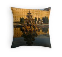 Chateau_Versailles_Reflected_Glory Throw Pillow