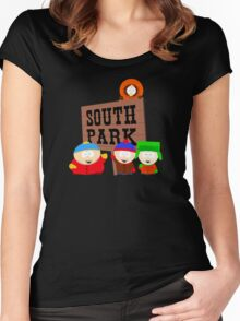 South Park is an American Women's Fitted Scoop T-Shirt
