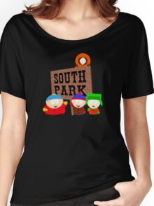 South Park is an American Women's Relaxed Fit T-Shirt