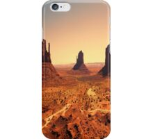 The Monument Three iPhone Case/Skin