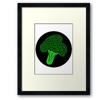 Broccoli Framed Print