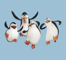 The Penguins Of Madagascar Kids Tee