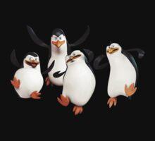 The Penguins Of Madagascar Kids Tee
