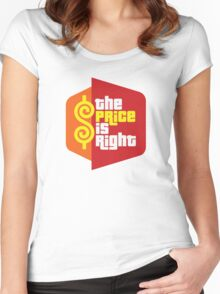 The Price Is Right Game Show Women's Fitted Scoop T-Shirt