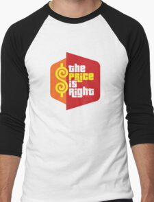 The Price Is Right Game Show Men's Baseball ¾ T-Shirt