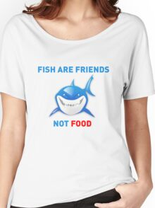 Fish are Friends Not Food - Finding Nemo Women's Relaxed Fit T-Shirt