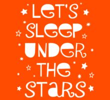 Let's Sleep Under The Stars Kids Clothes