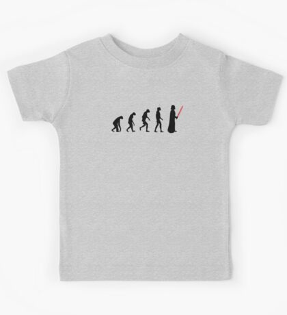 Evolution of the dark side Kids Tee